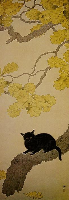 Kuroki_Neko_by_Hishida_Shunso.jpg